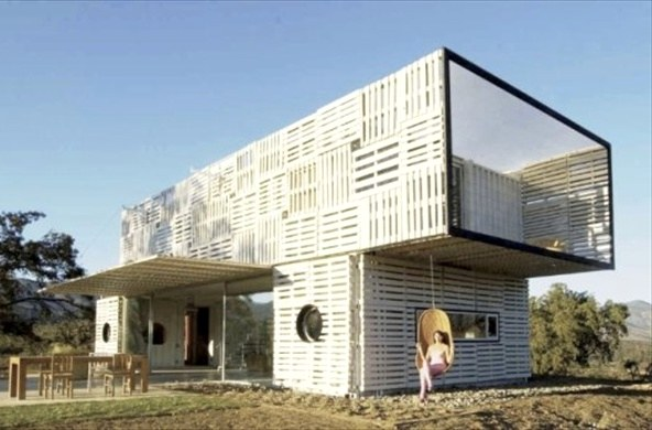 дом Приют для бездомных из поддонов Pallet House Plans: Shelter for Homeless