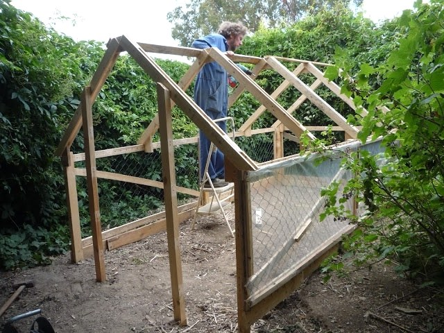 Protect the Plants with a Pallet Greenhouse
