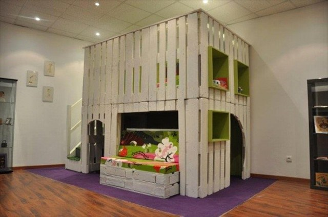 Pallet Ideas for Kids Room and Furniture