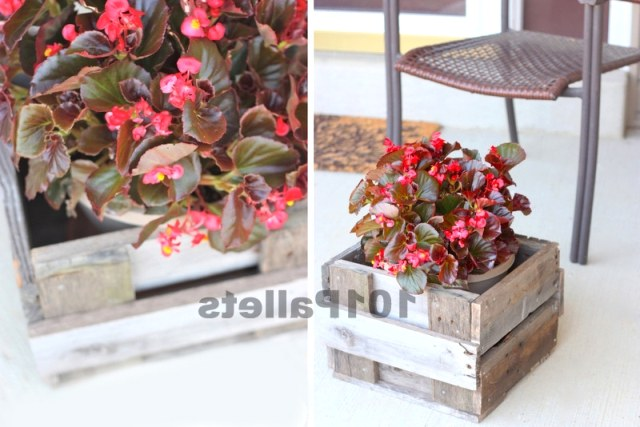 DIY Pallet Planter Box Tutorial