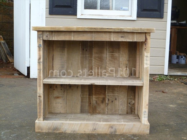 Make Your Own DIY Pallet Nightstand Тумбочка из поддонов