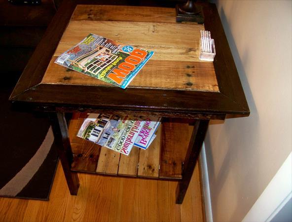 Журнальный столик своими руками из журналов 90