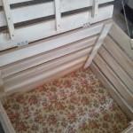 Ящик для хранения вещей из паллет