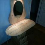 Туалетный столик из поддонов