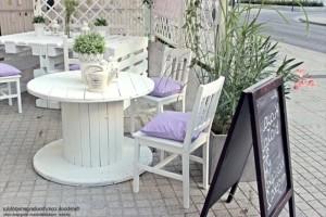 Мебель для отдыха из поддонов своими руками