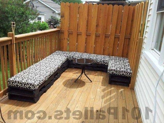 Уникальная мебель из поддонов
