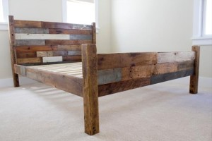 Королевская кровать из поддонов