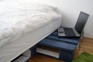 Каркас кровати из поддонов