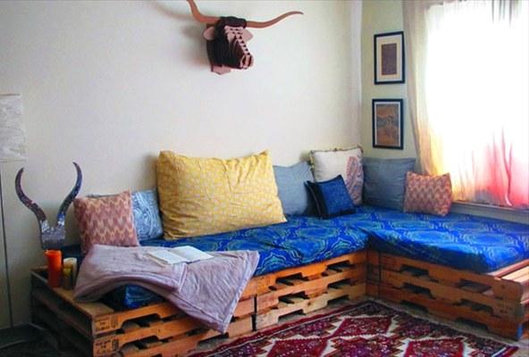 Как сделать диван собственными руками