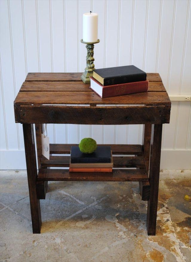 Идеи создания столиков из поддонов своими руками