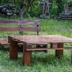 Уникальные столы для пикников из паллет