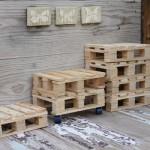 Кукольная мебель из паллет