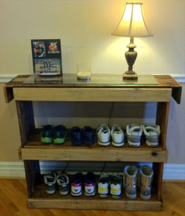 Стеллаж для обуви своими руками