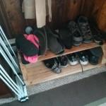 Полка для обуви своим руками