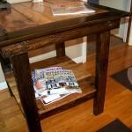 Эксклюзивный журнальный столик своими руками