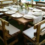 Свадебный столик из поддонов