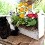 Ящики для цветов из поддонов