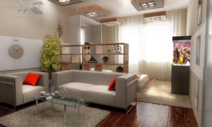 Обустройство+гостиной+комнаты