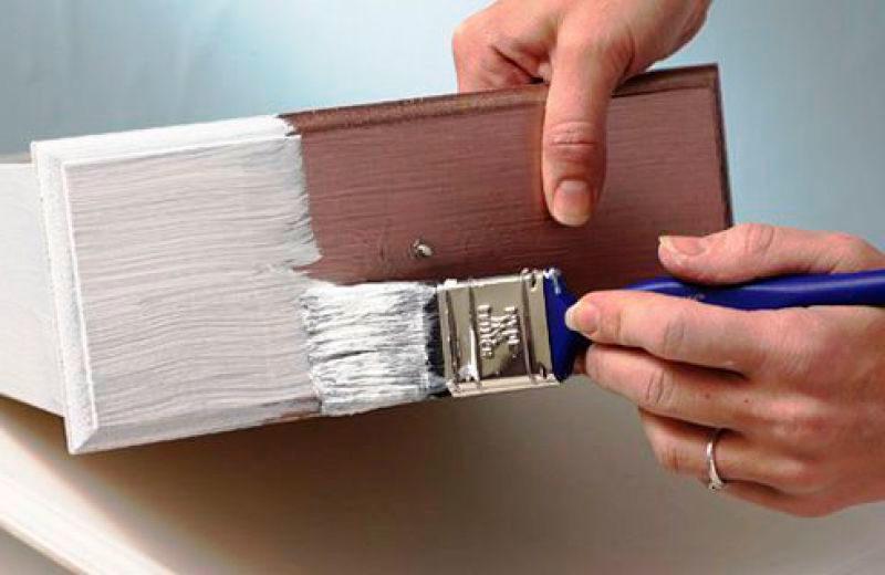 Покраска мебели своими руками