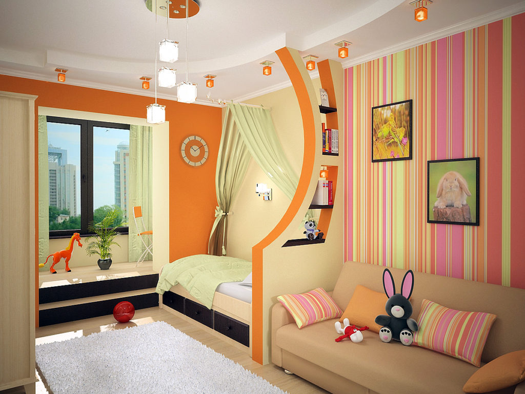 Нюансы при выборе дизайна детской комнаты