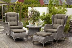 плетеная мебель из ротанга и искусственного ротанга