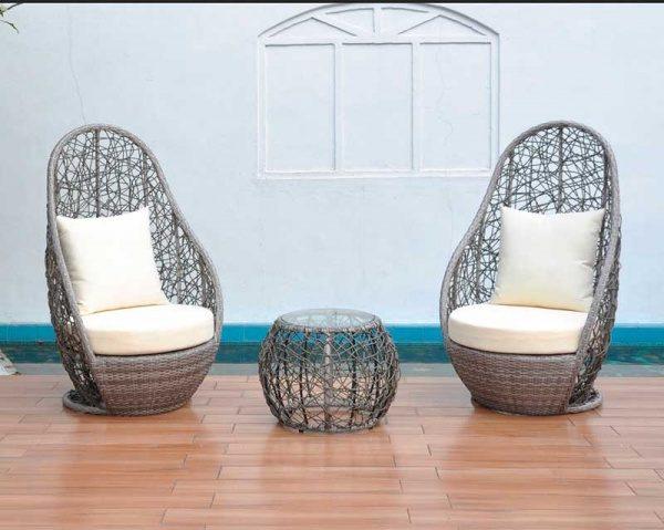Красота плетеной мебели